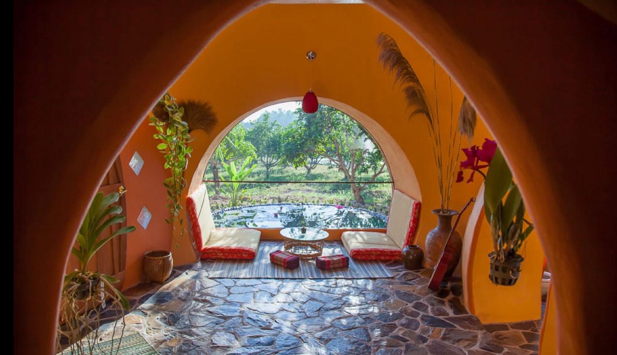 """Construire une maison alternative pas chère : 10 types d'habitations """"cosy"""" et originales Steve-areen-dome-living"""
