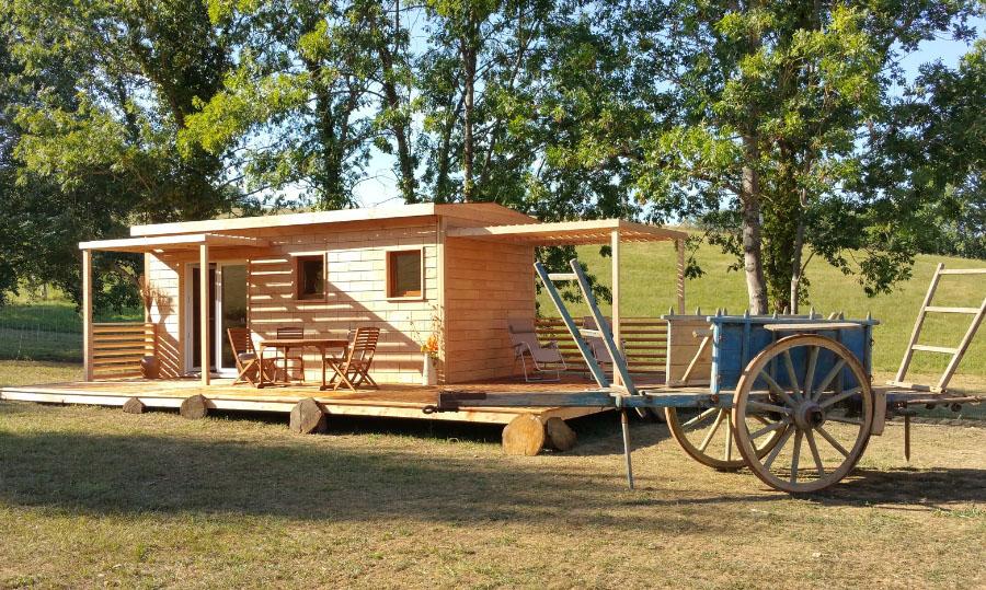 Brikawood : une maison écologique en bois à construire sans clou