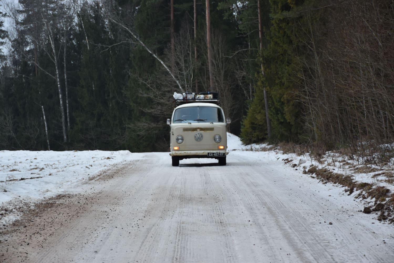voyager en van en hiver