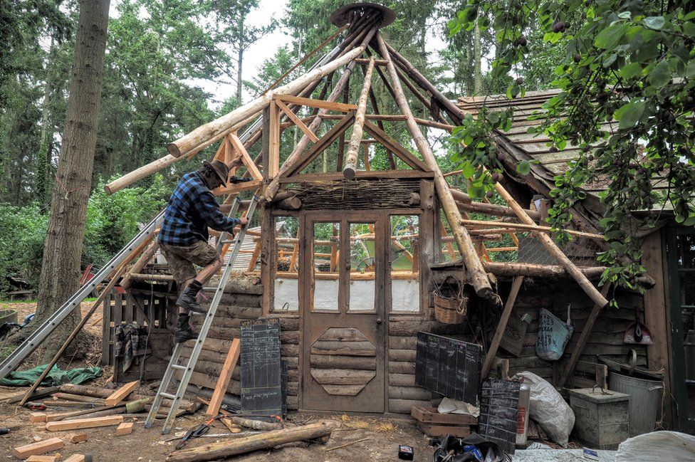 autoconstruction maison écologique en bois