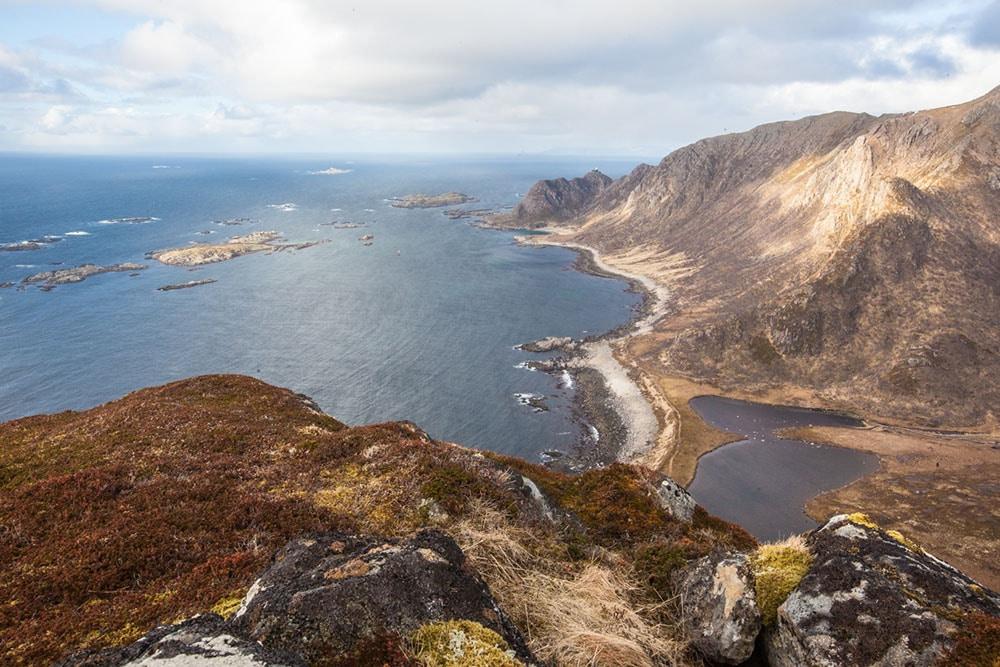 Vue Nyksund tourisme durable norvège