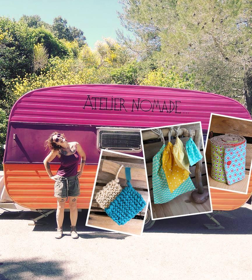 Nomade, elle ouvre la première boutique itinérante de couture Zéro Déchet