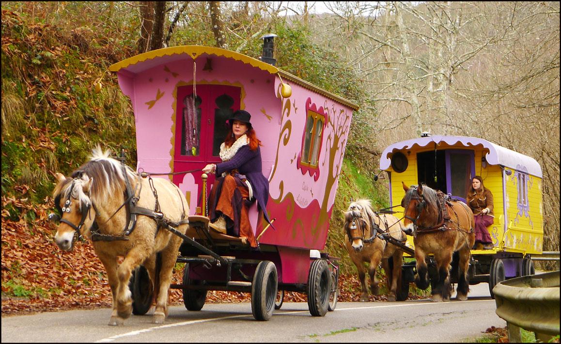 vivre en roulotte nomade