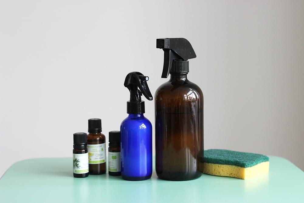 spray nettoyant zéro déchet