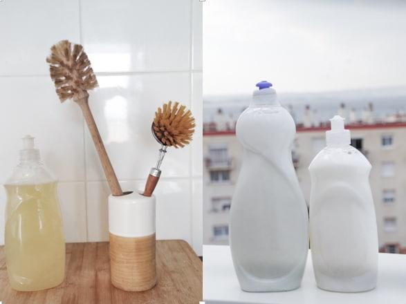 liquide vaisselle DIY Zéro déchet dans la cuisine