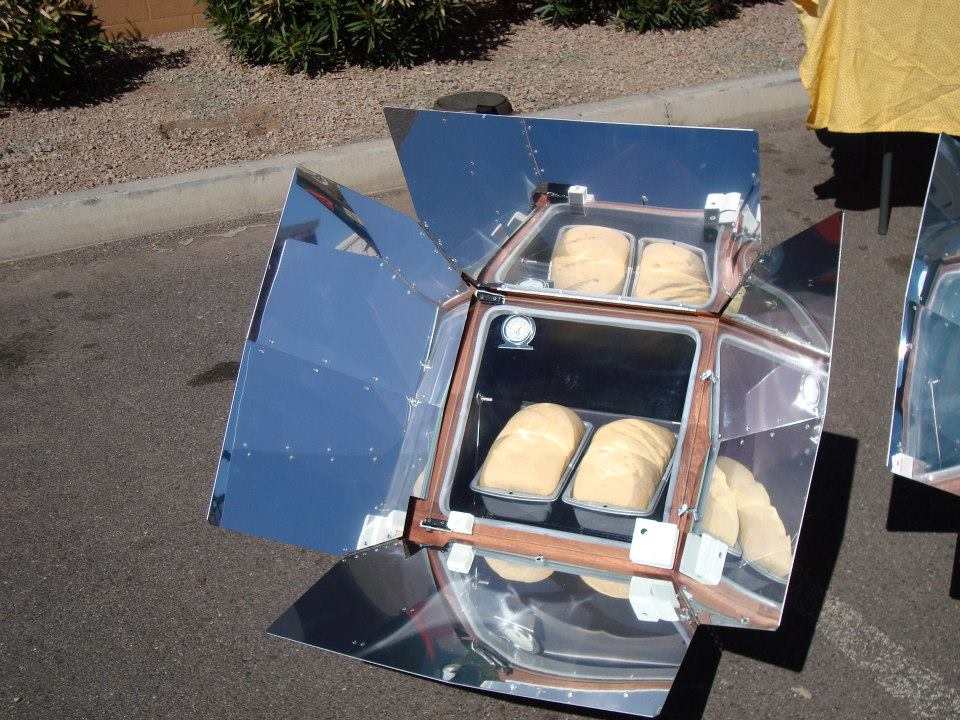 four solaire économie d'energie