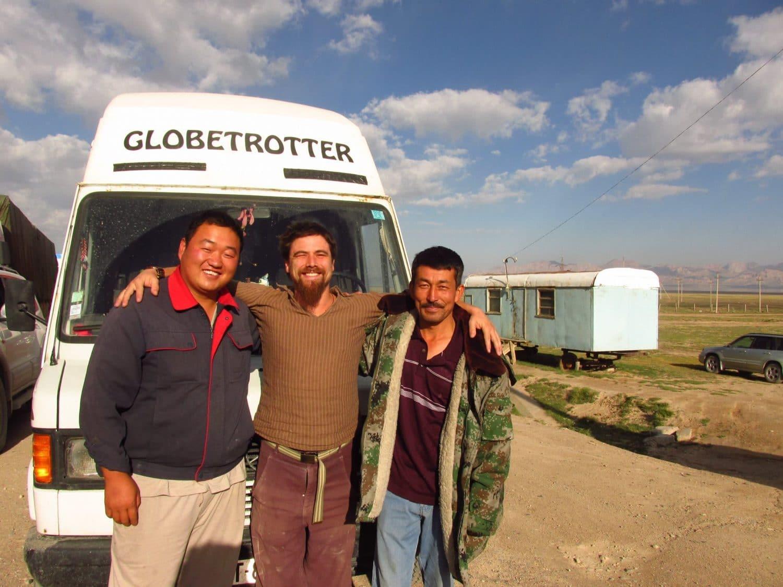 nomade à plein temps tour du monde van
