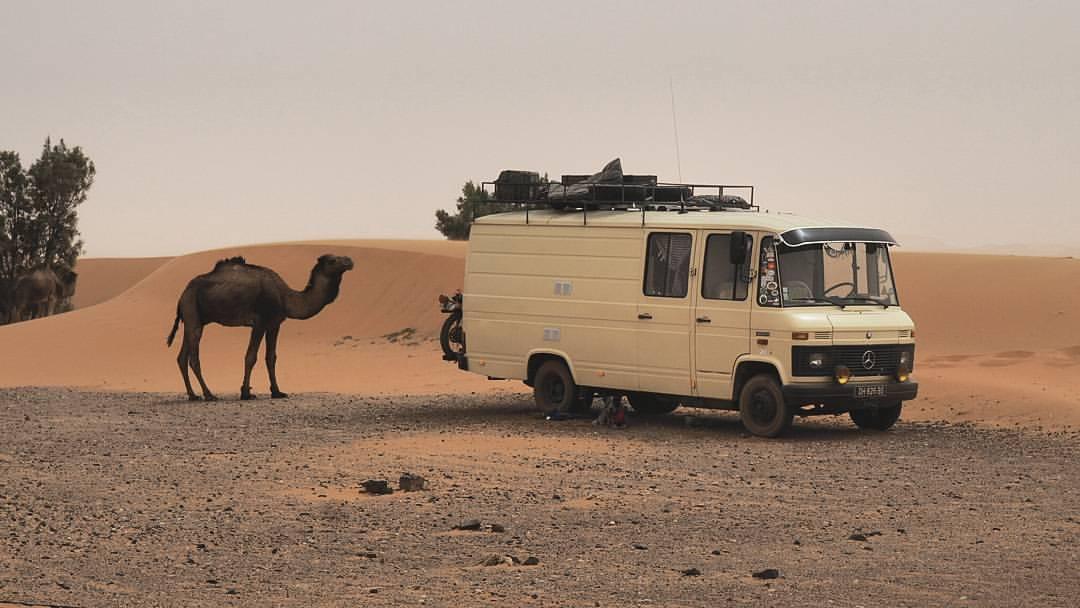 vivre nomade en van