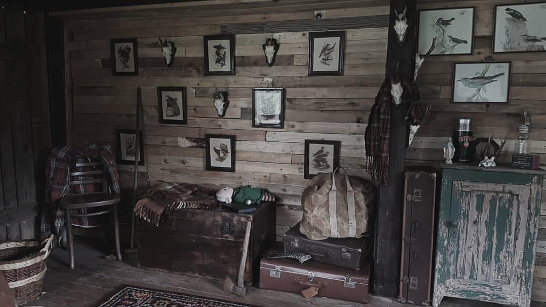 aménager une cabane en bois
