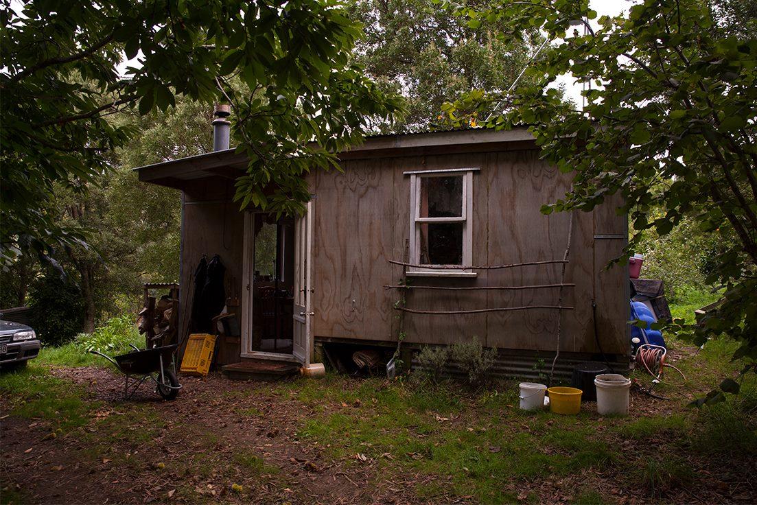 vivre en autonomie dans une cabane