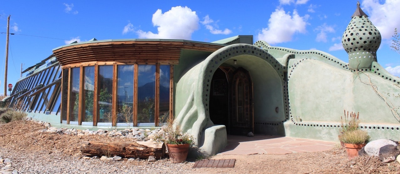earthship construction alternative