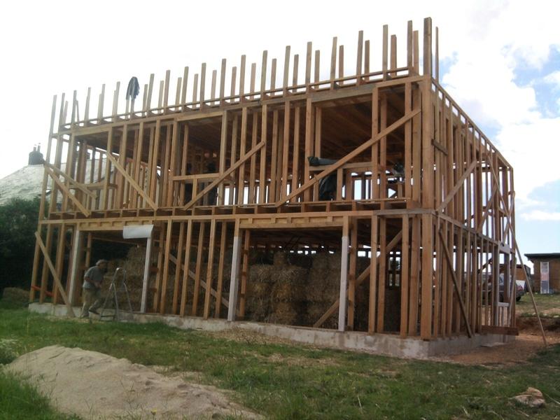 maison en paille ossature bois - Maison Paille Ossature Bois
