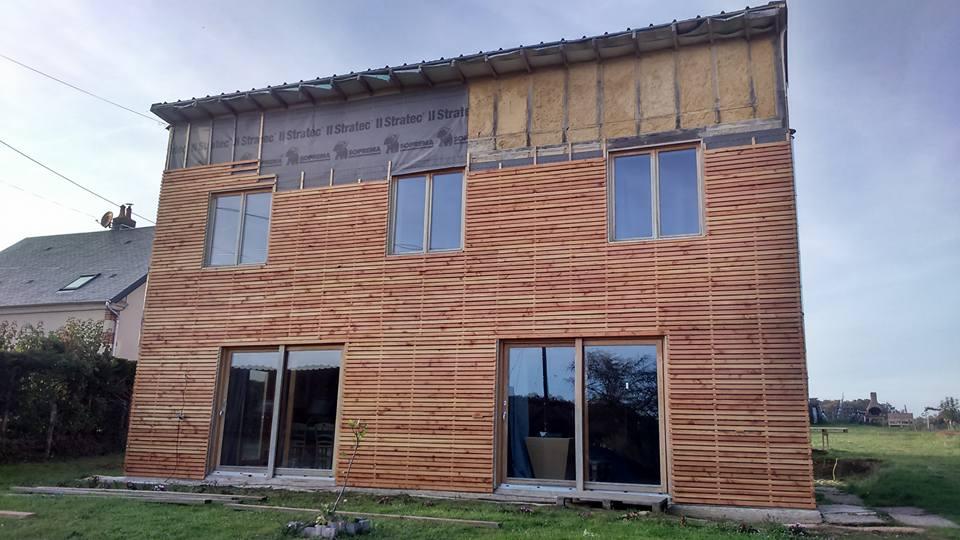 maison en paille et en ossature bois autoconstruction With maison paille ossature bois