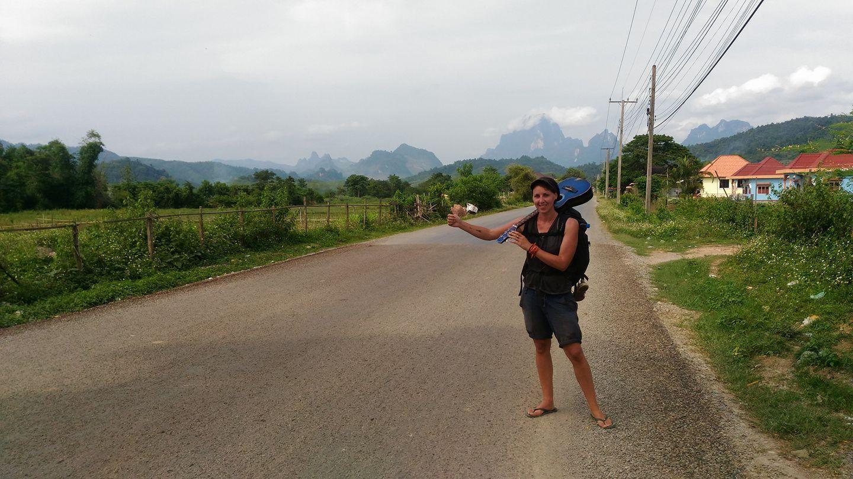 Voyage seule en auto-stop
