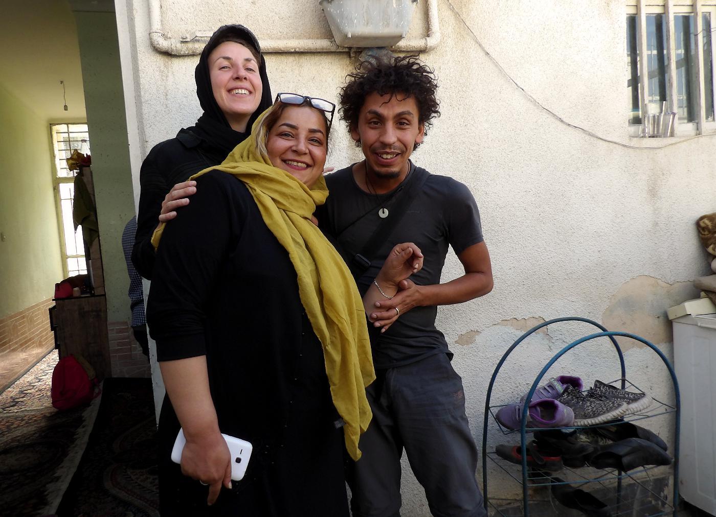 voyage seule Iran