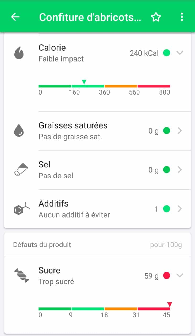 mieux consommer application scan
