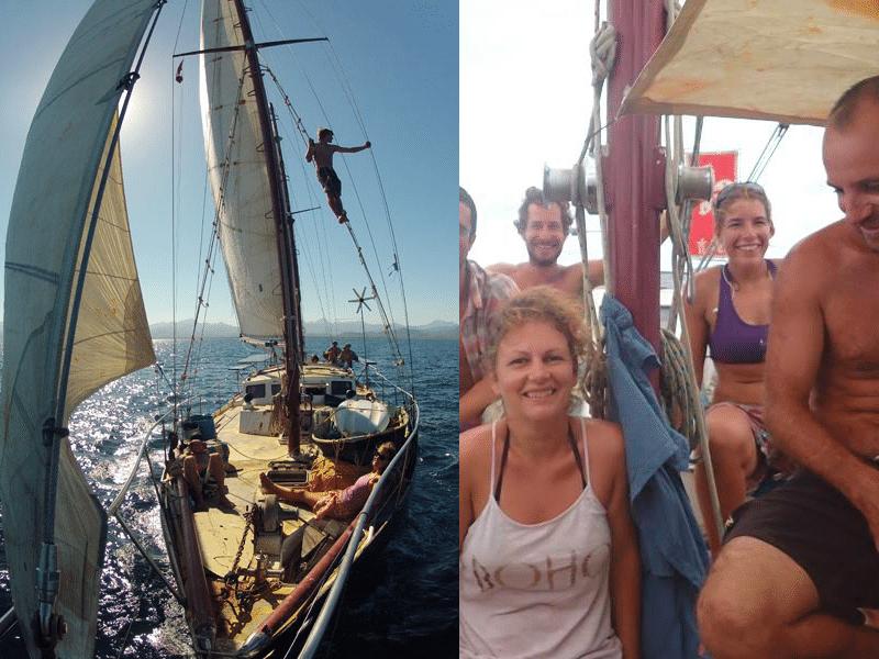 Une communauté en voilier : le Karaka parcourt le monde depuis 15 ans