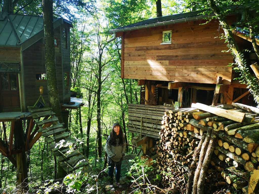 cabane construction