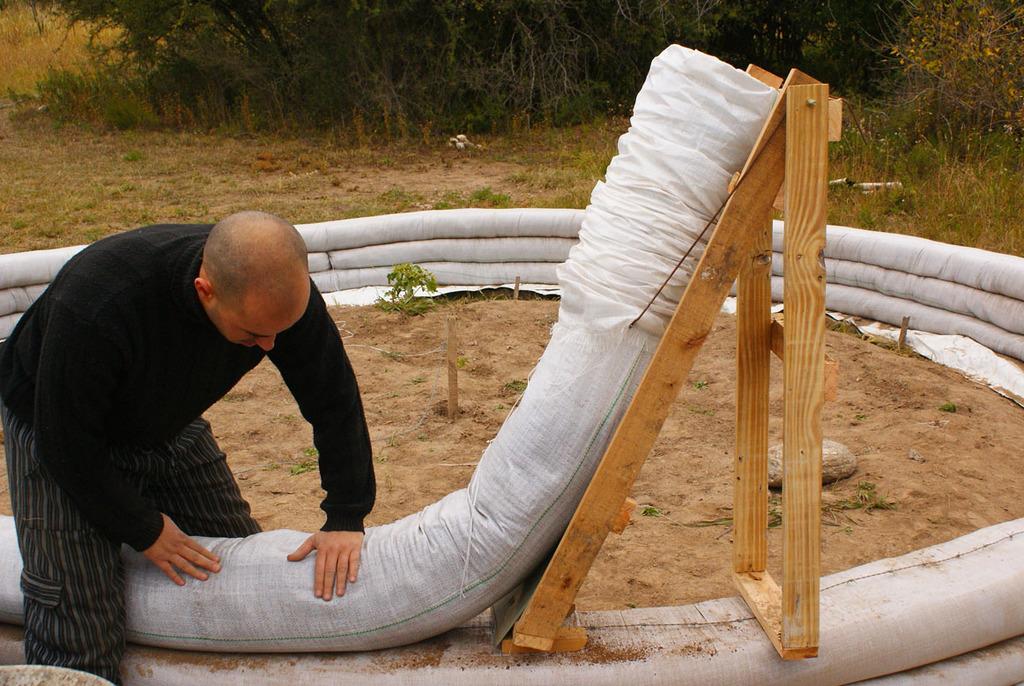 construire éco-dôme
