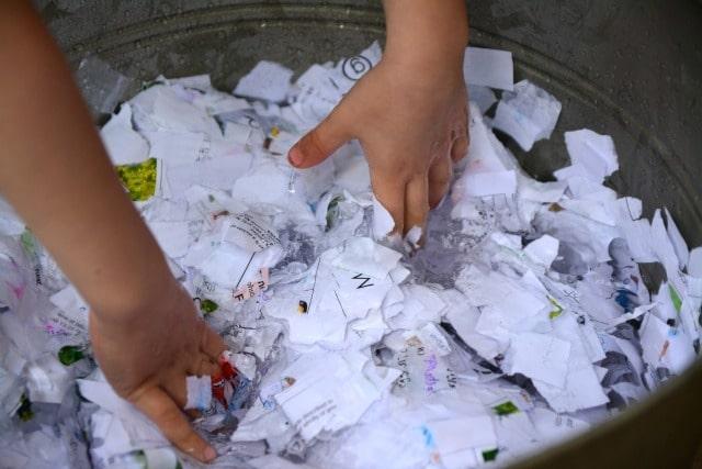 faire papier recyclé zéro déchet
