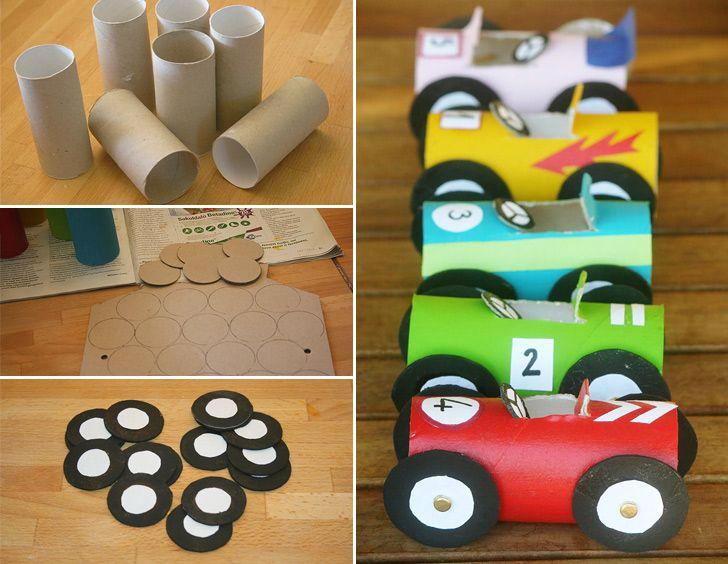 réutiliser rouleau papier toilette