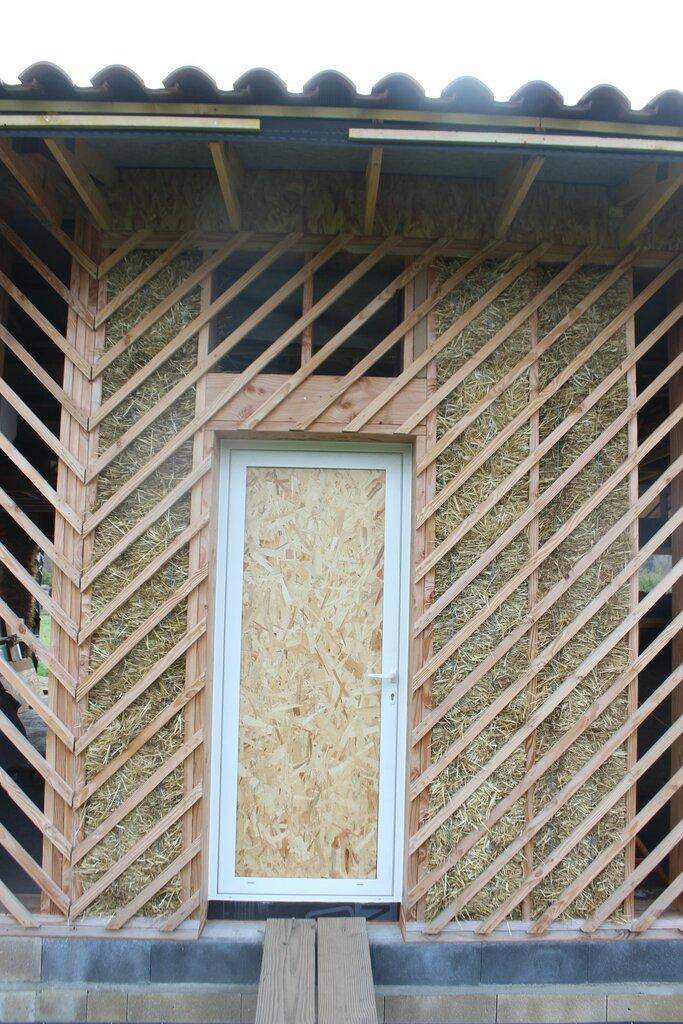 autoconstruire maison ossature bois paille