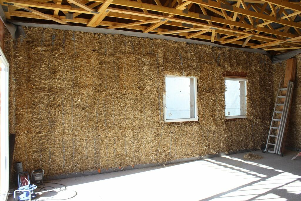 maison ossature bois paille terre