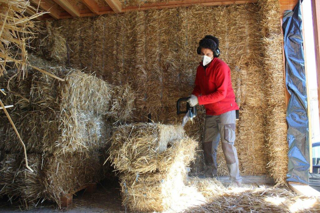 autoconstruction maison bois paille