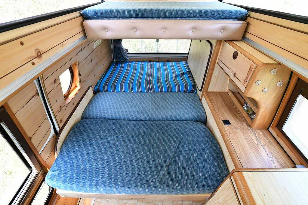 aménagement lit van