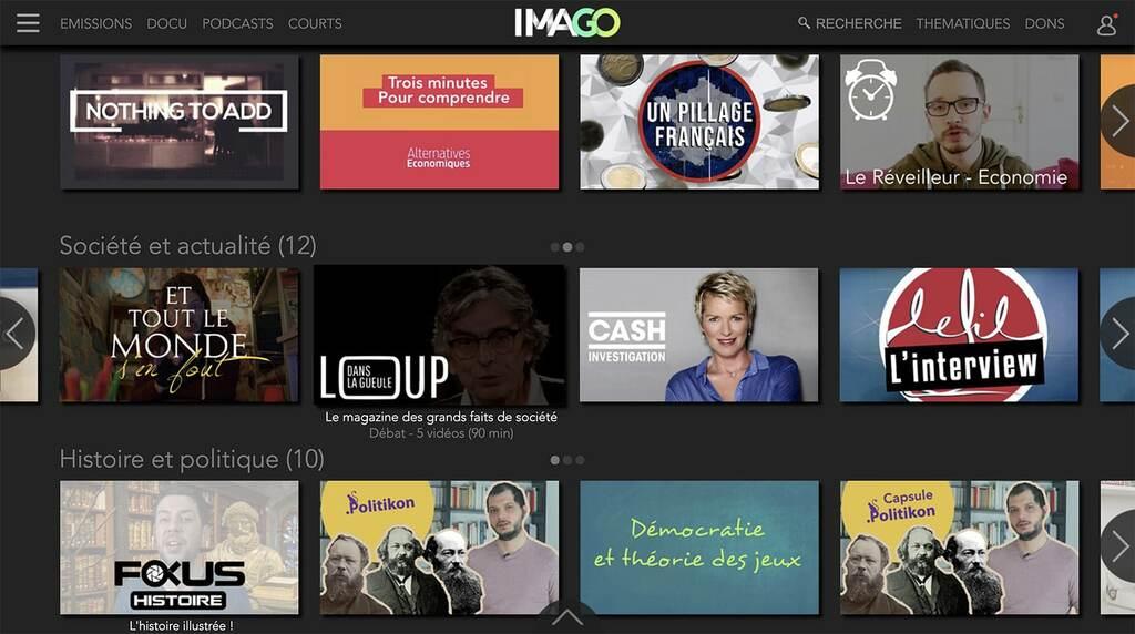 Imago TV documentaires écologiques