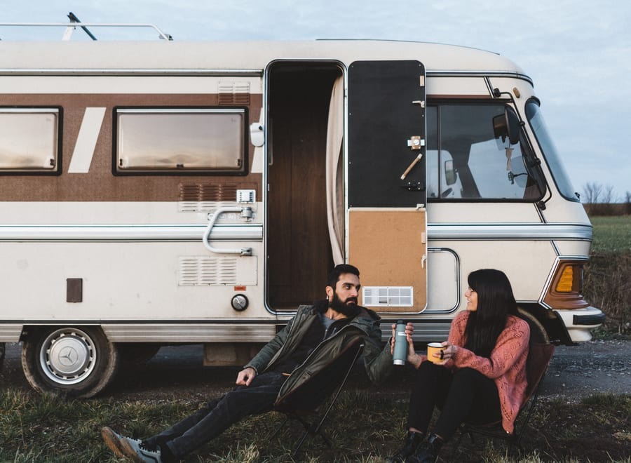 voyager en van en couple
