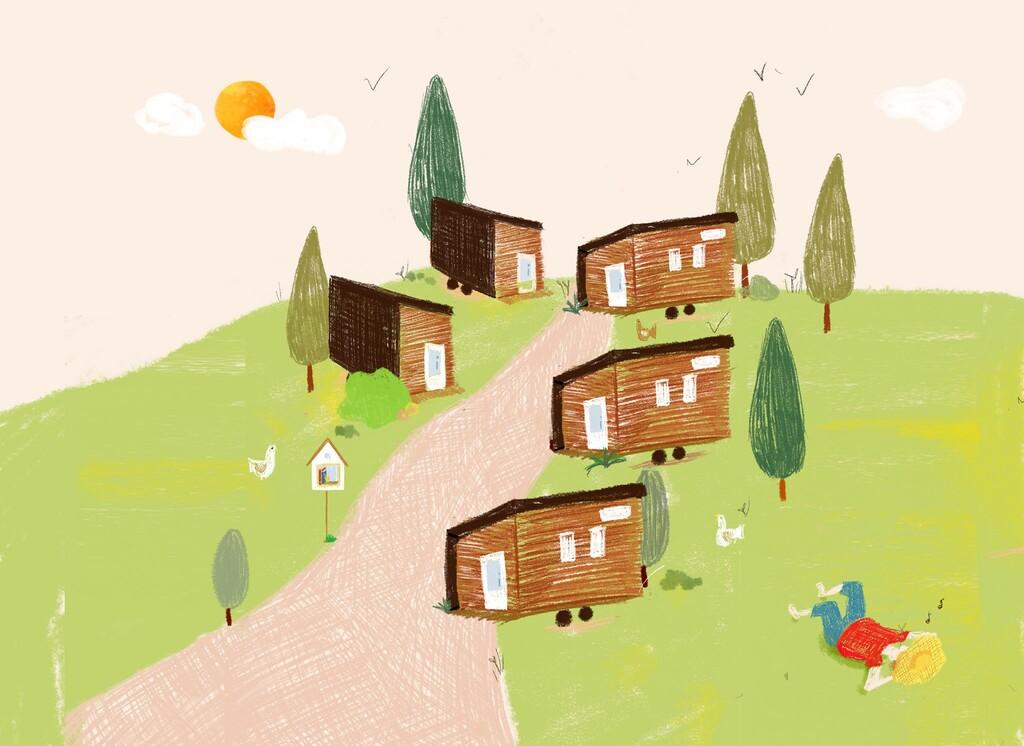 village Tiny Houses France