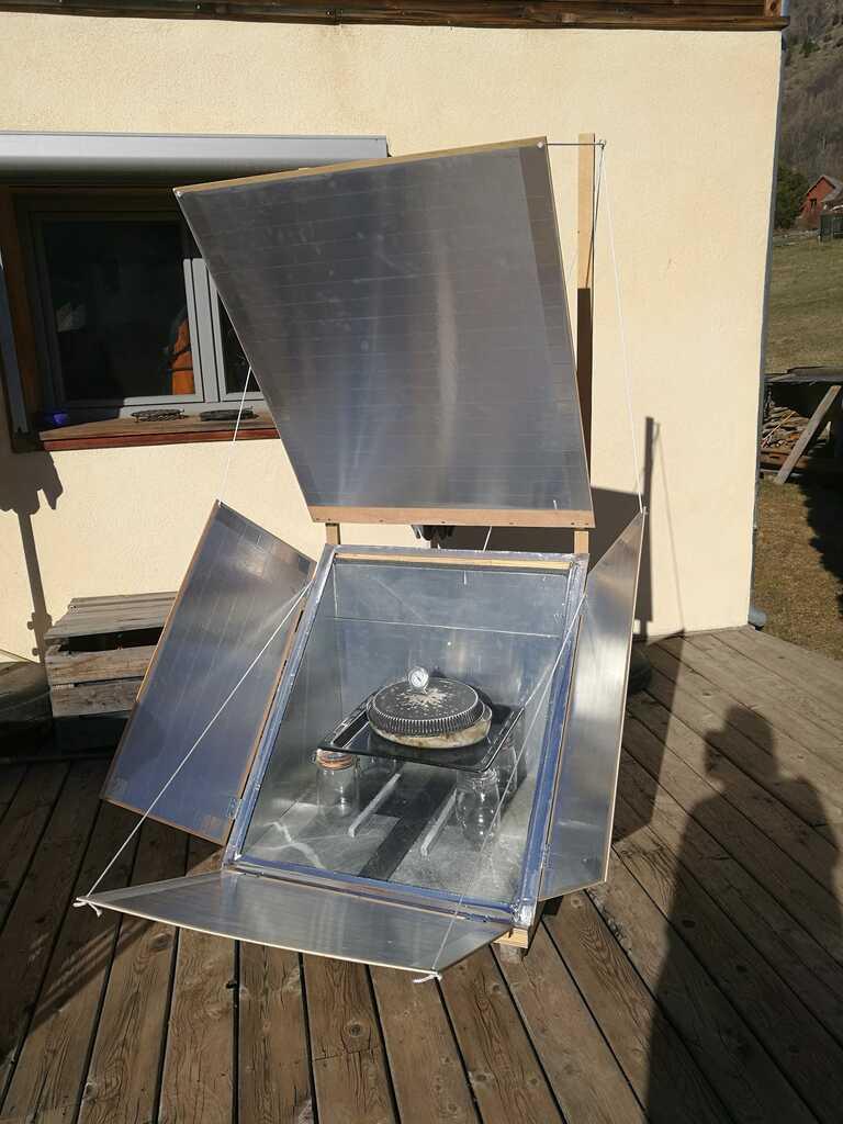 four solaire DIY