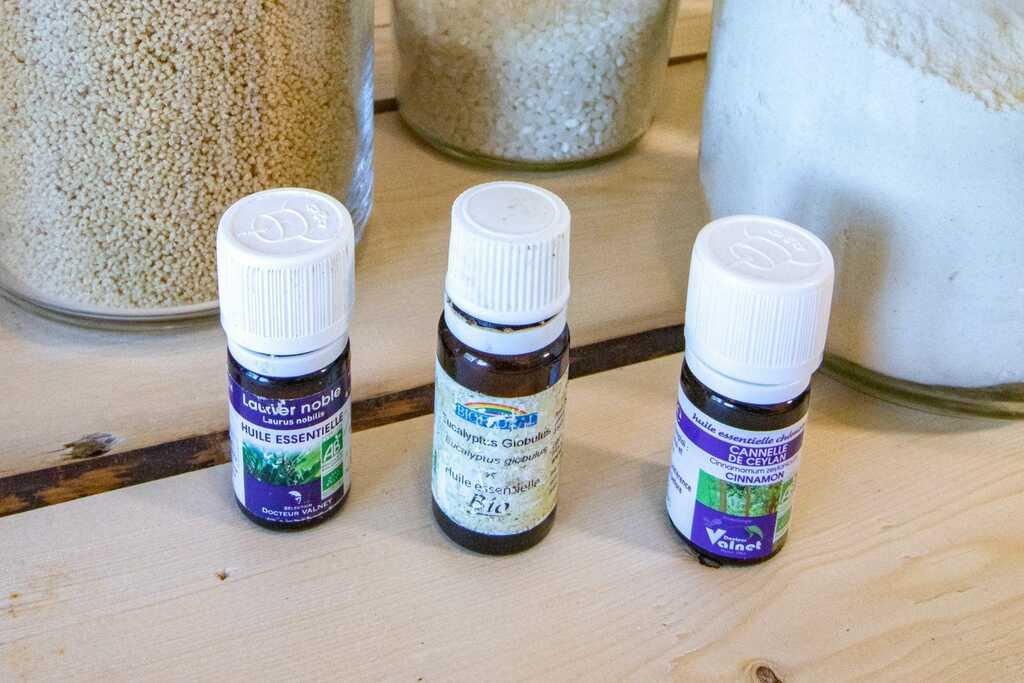 huile essentielle lessive