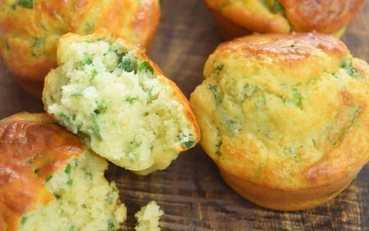 muffins à l'ail des ours