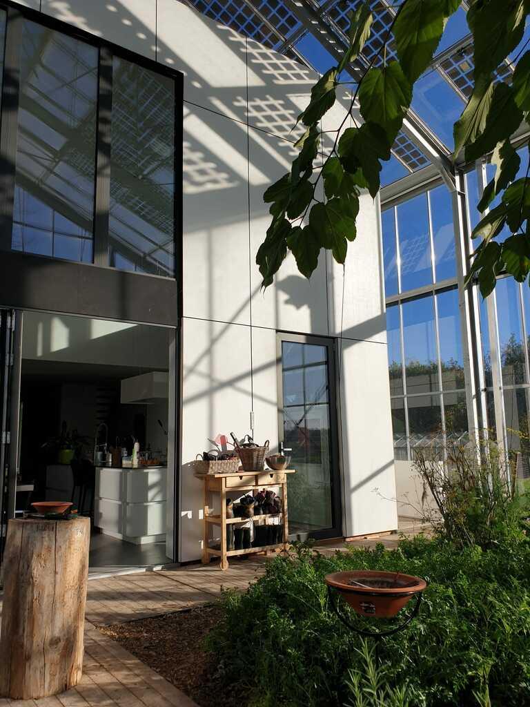 maison serre bioclimatique