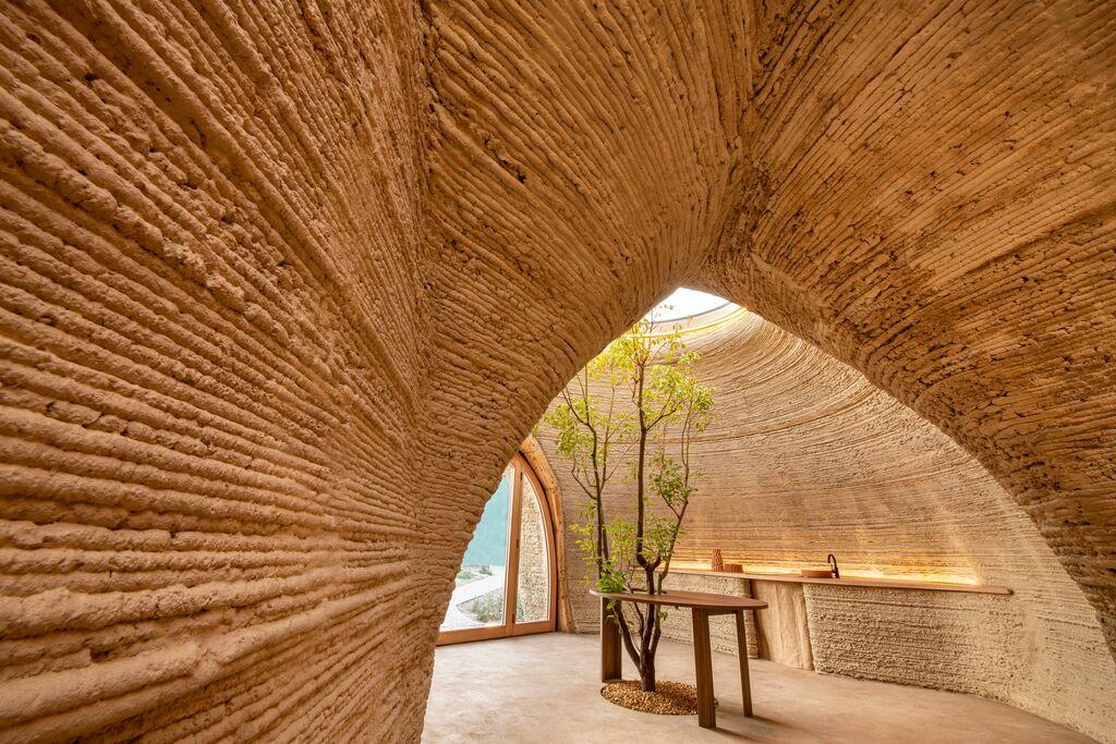 maison écologique terre